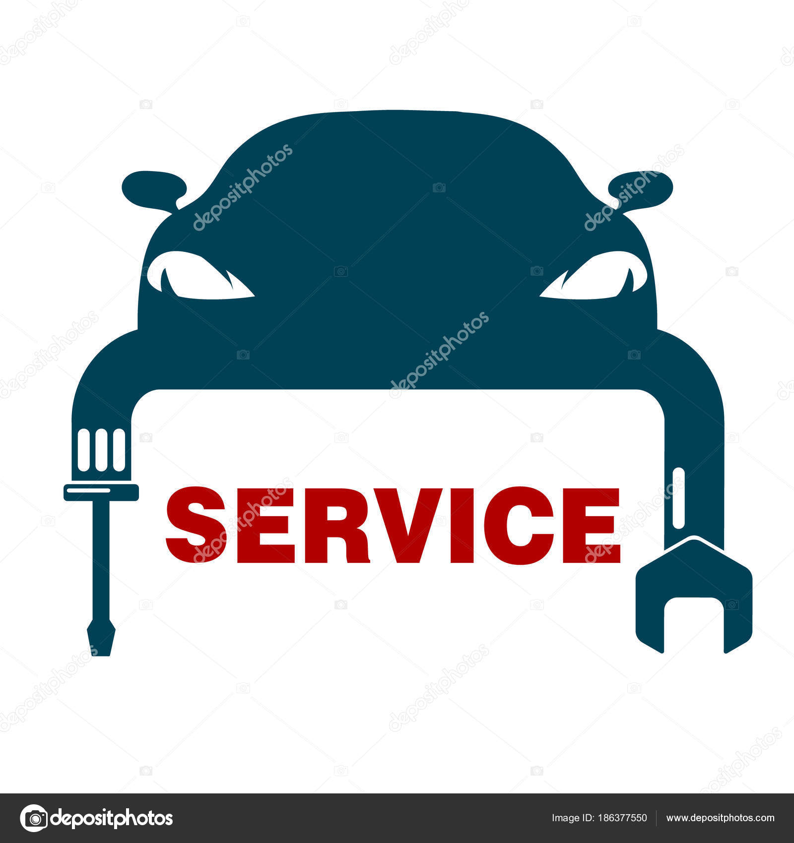 car repair symbol stock vector john1279 186377550 rh depositphotos com car repair free vector