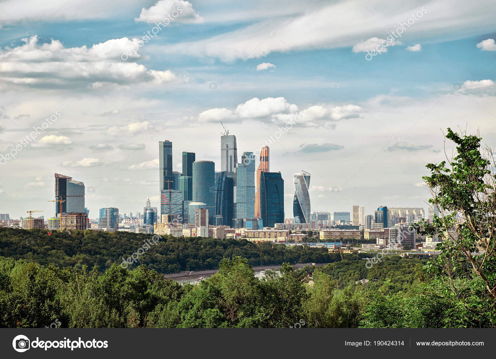 Moscow, Vorobyevy Gory: observation deck 47