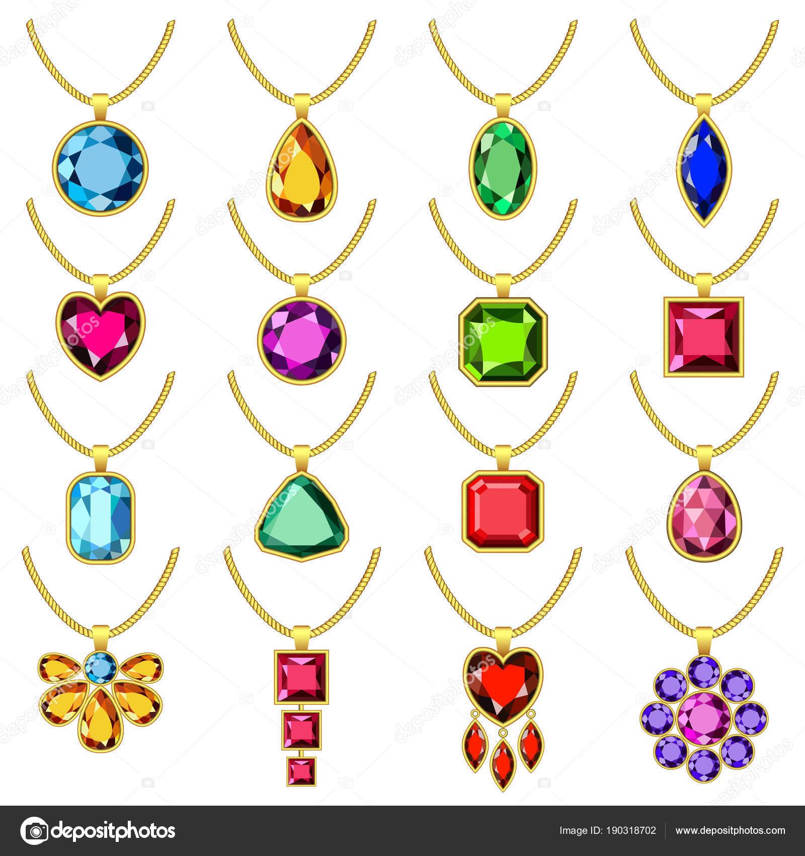 a3a68a372ba4 Collar cadena maqueta conjunto de joyas