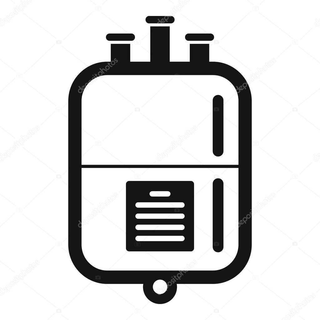 Blood transfusion package icon icon