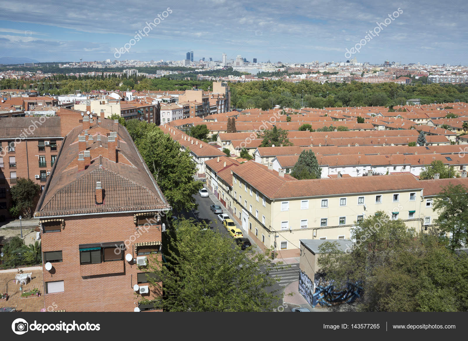 Architettura A Madrid views of madrid city, spain – stock editorial photo
