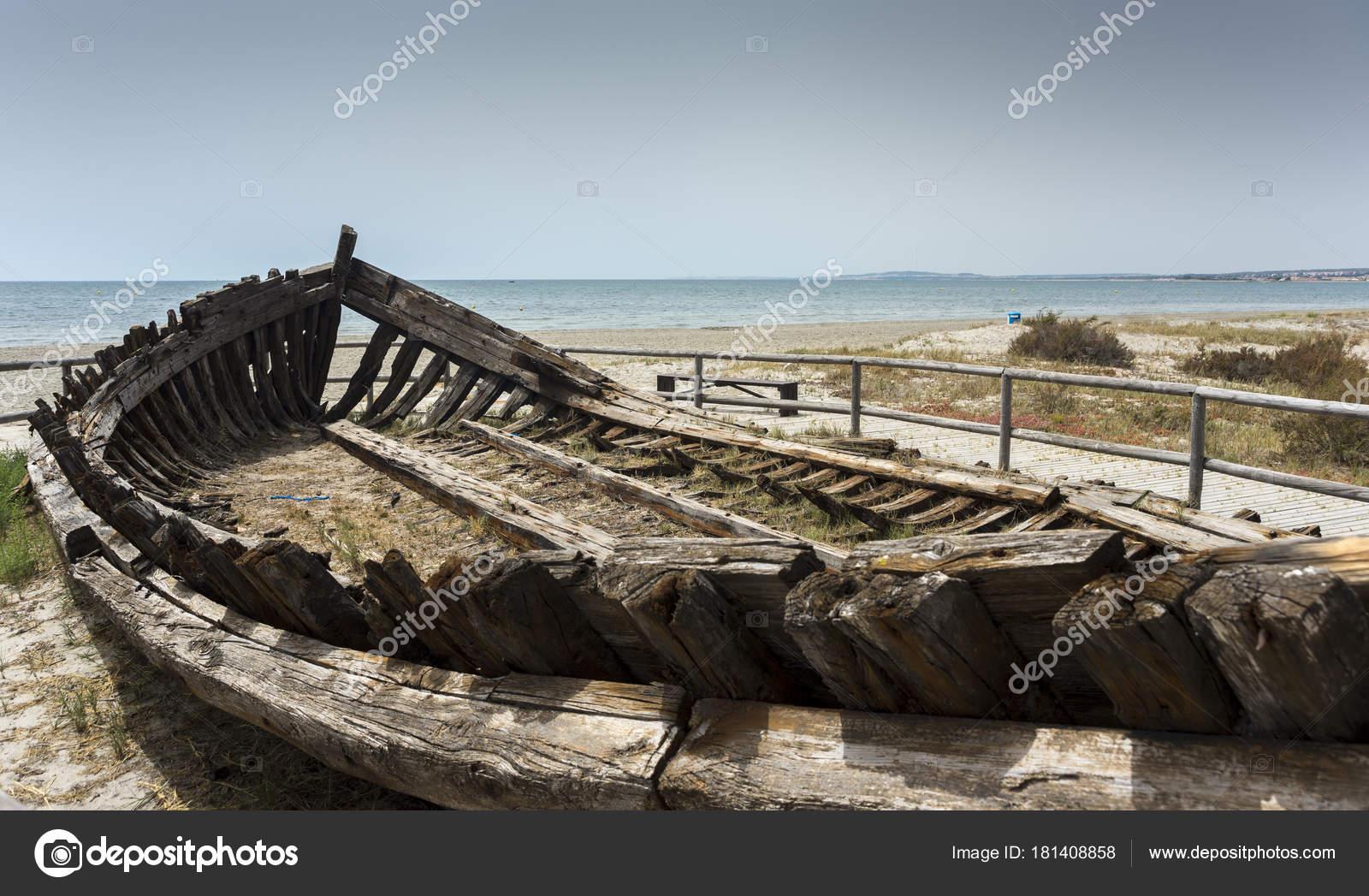 Barcaza para transporte sal foto tomada santa pola - Stock uno alicante ...