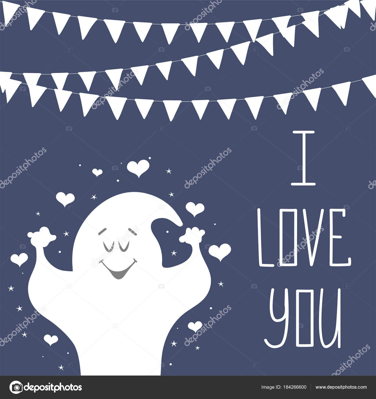 Eu Te Amo De Cartão Postal Frase Para Dia Dos Namorados Caligrafia
