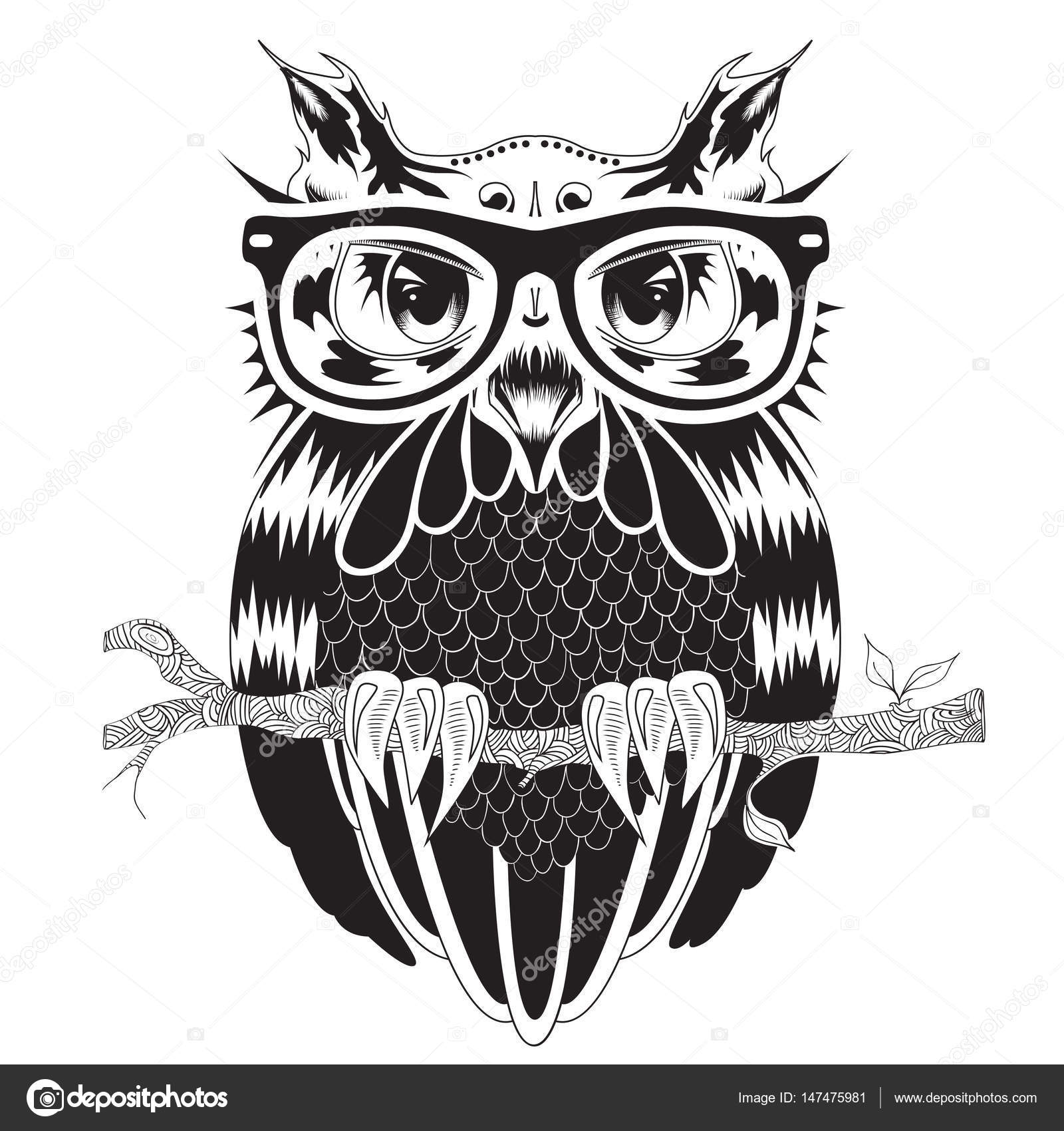 рисунки сова картинки