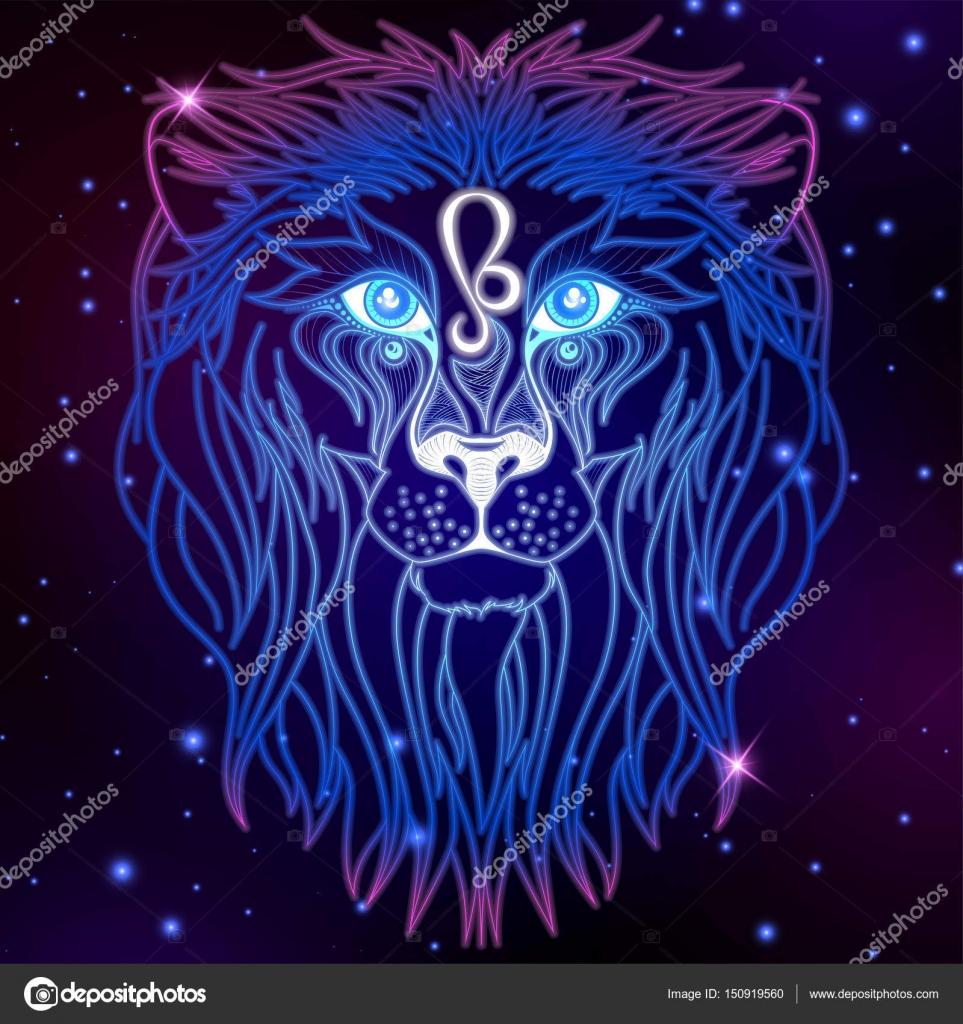 leo zodiac sign — stock vector © littlepaw #150919560