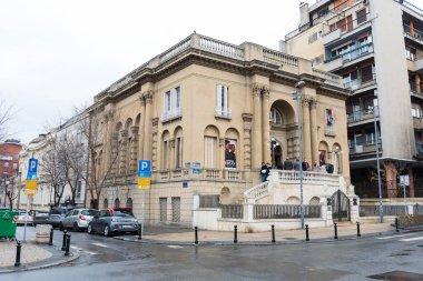BELGRADE, SERBIA - FEBRUARY 4, 2017: Nikola Tesla Museum in Belgrade. The Nikola Tesla Museum is dedicated to honoring and displaying the life and work of Nikola Tesla. Belgrade, Serbia.