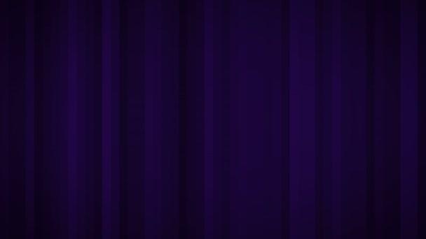 Bezešvé pozadí s pohybující se čáry, barva fialová. Motion grafika. Video animace