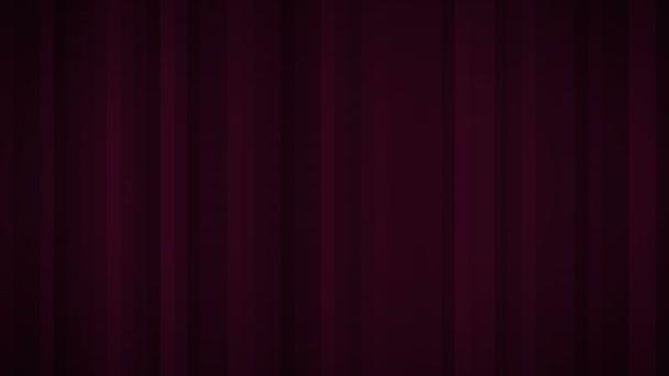 Bezešvé pozadí s pohybující se čáry, barva vínová. Motion grafika. Video animace