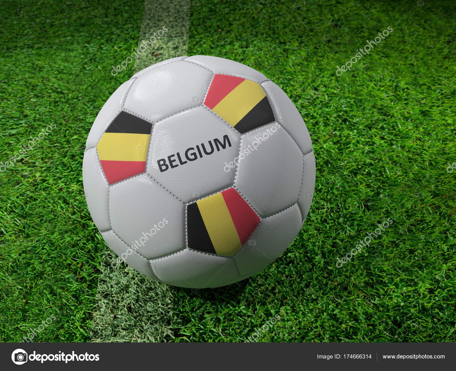 belgien fussball — Stockfoto © pryzmat #174666314