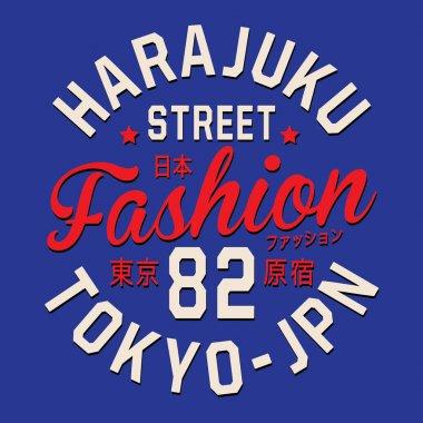 Tokyo typography, t-shirt graphic