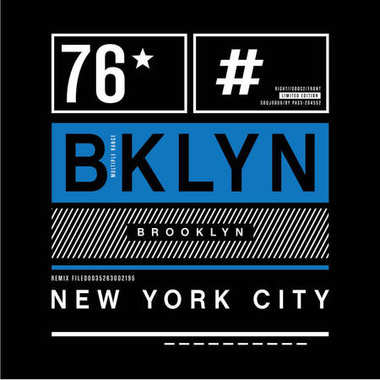 Brooklyn remix typography