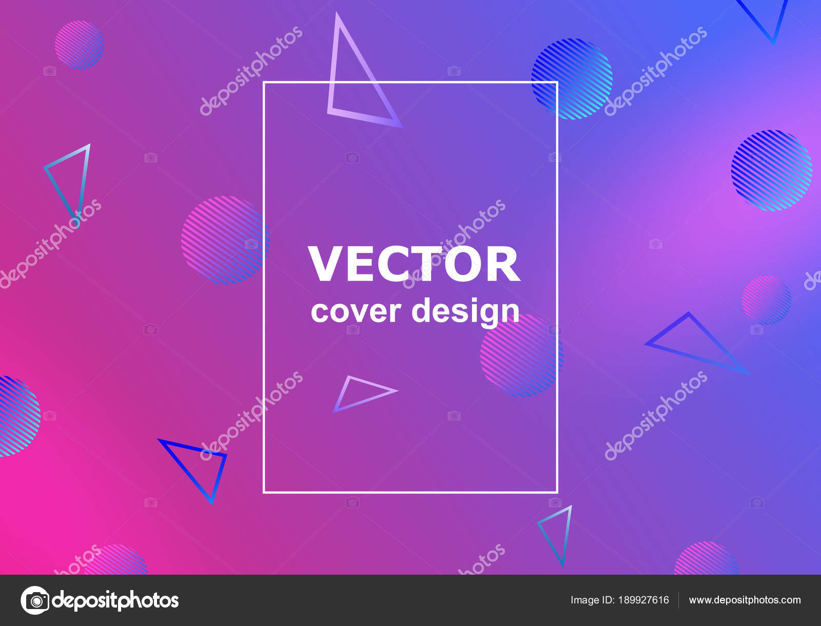 background with flat and dynamic design geometric shapes in motion
