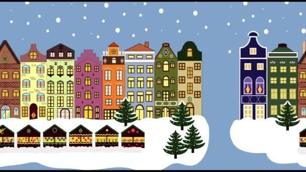 Festliche Winterstadt