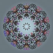 abstraktní barevný obrázek