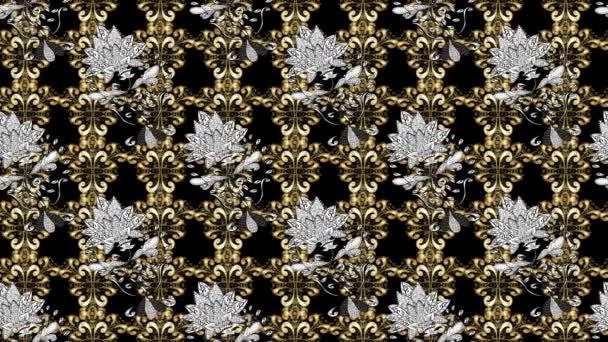 Klassische Kritzeleien Muster