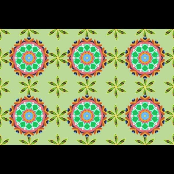 Loop mandalas moving pattern