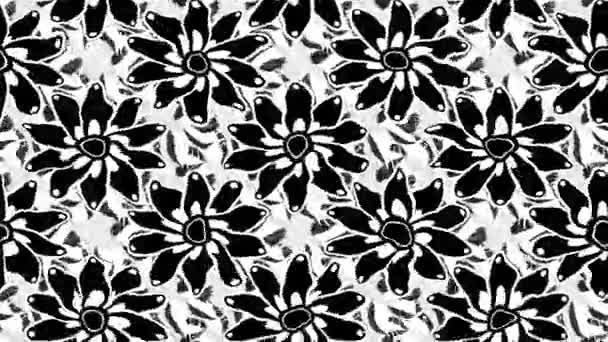 Květiny motion záběry složení. Lze použít pro reklamu a spořiče obrazovky