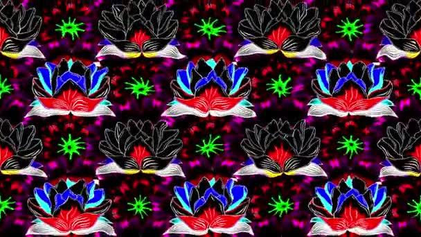 Lotus smyčky video kompozice