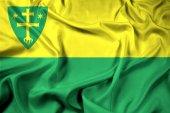 Fotografie Waving Flag of Zilina City, Slovakia