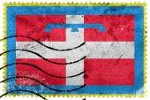 Bandiera della regione Piemonte, Italia, Vecchio francobollo