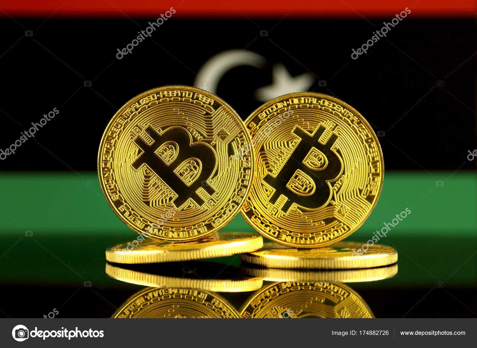 Physical version bitcoin libya flag close stock editorial photo physical version bitcoin libya flag close stock photo ccuart Choice Image