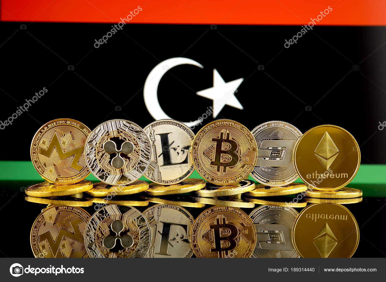 Physical version cryptocurrencies monero ripple litecoin bitcoin physical version cryptocurrencies monero ripple litecoin bitcoin dash ethereum libya stock photo ccuart Choice Image
