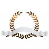 Fotografie Vector illustration of Bronze leaves