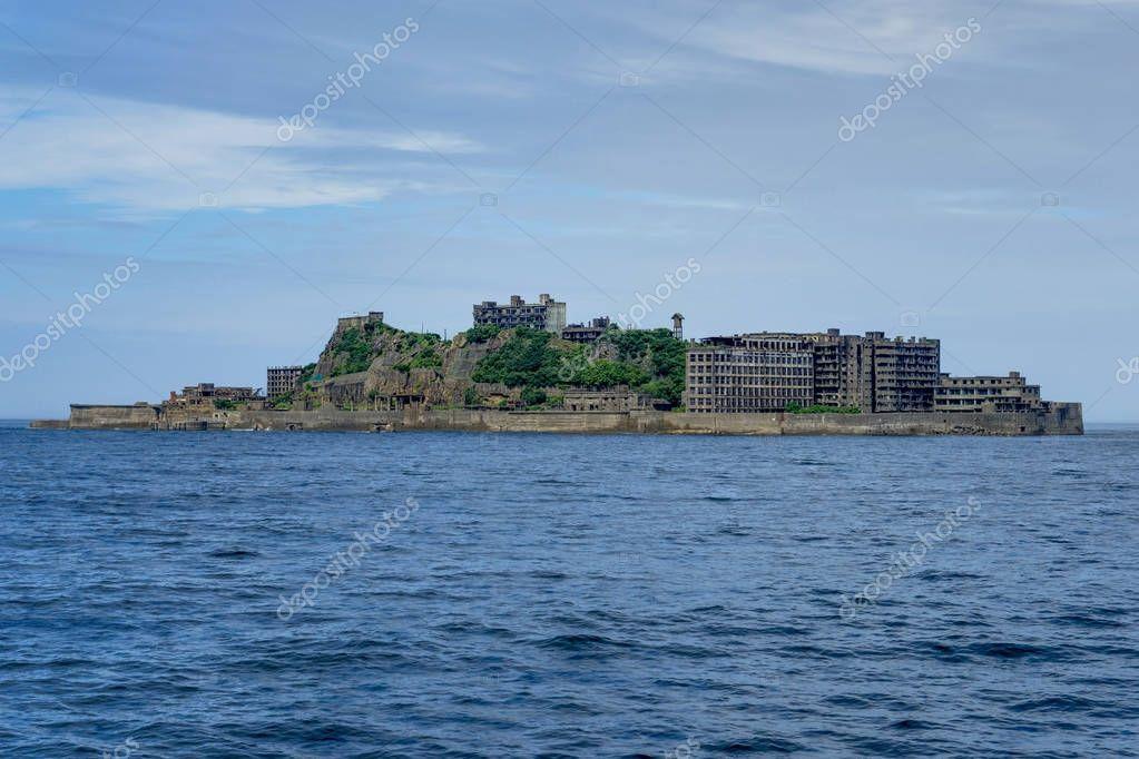 Hashima Island Abondoned Ghost Island near Nagasaki