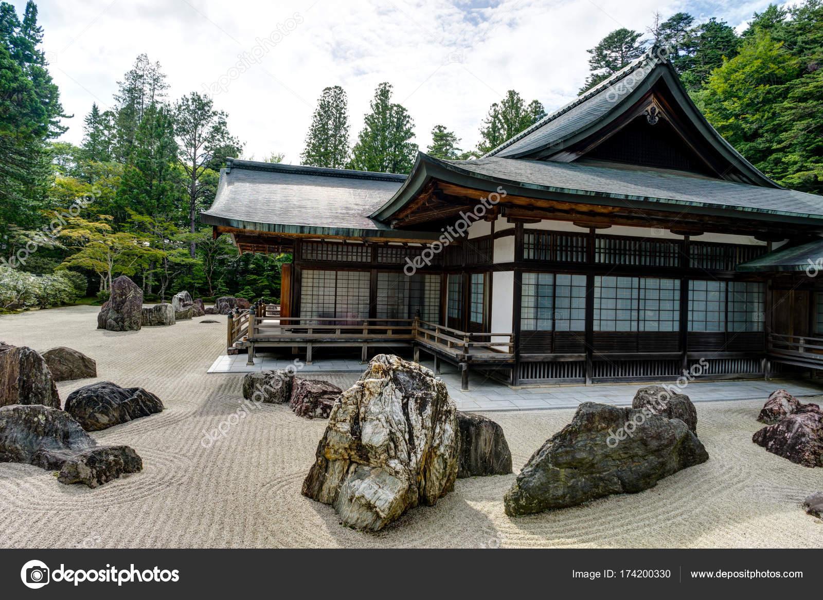 Kongobuji Temple Traditional Japanese House Building ...
