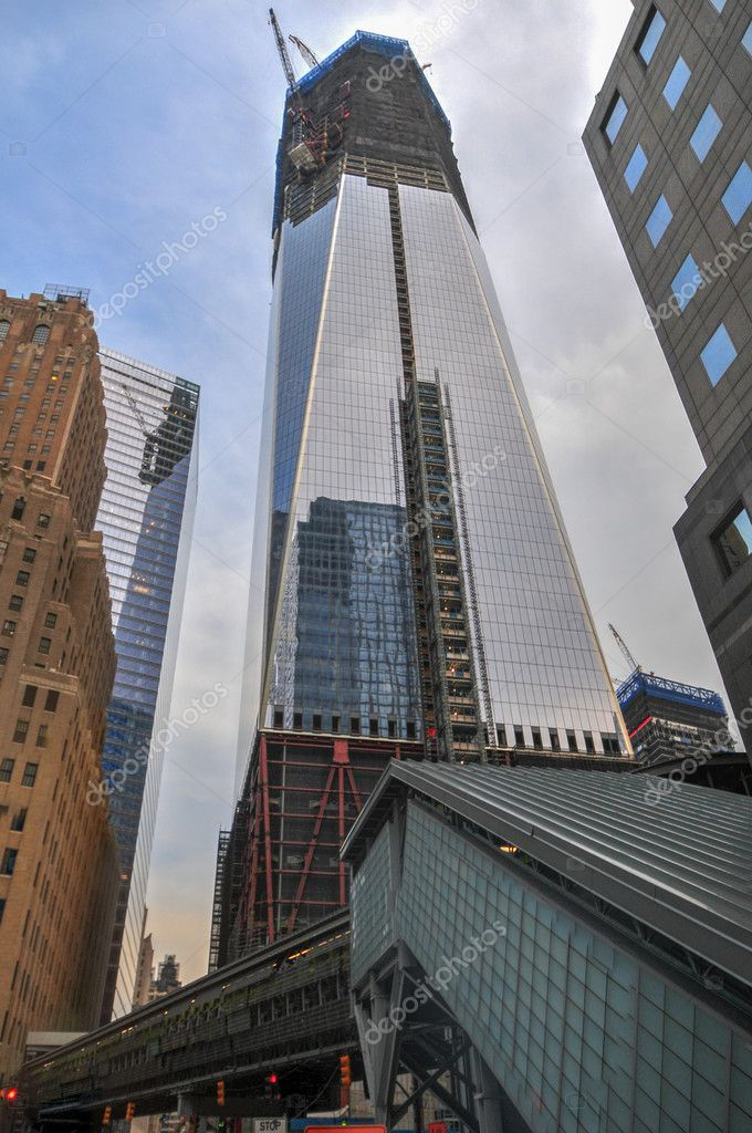 wie hoch ist der world trade center
