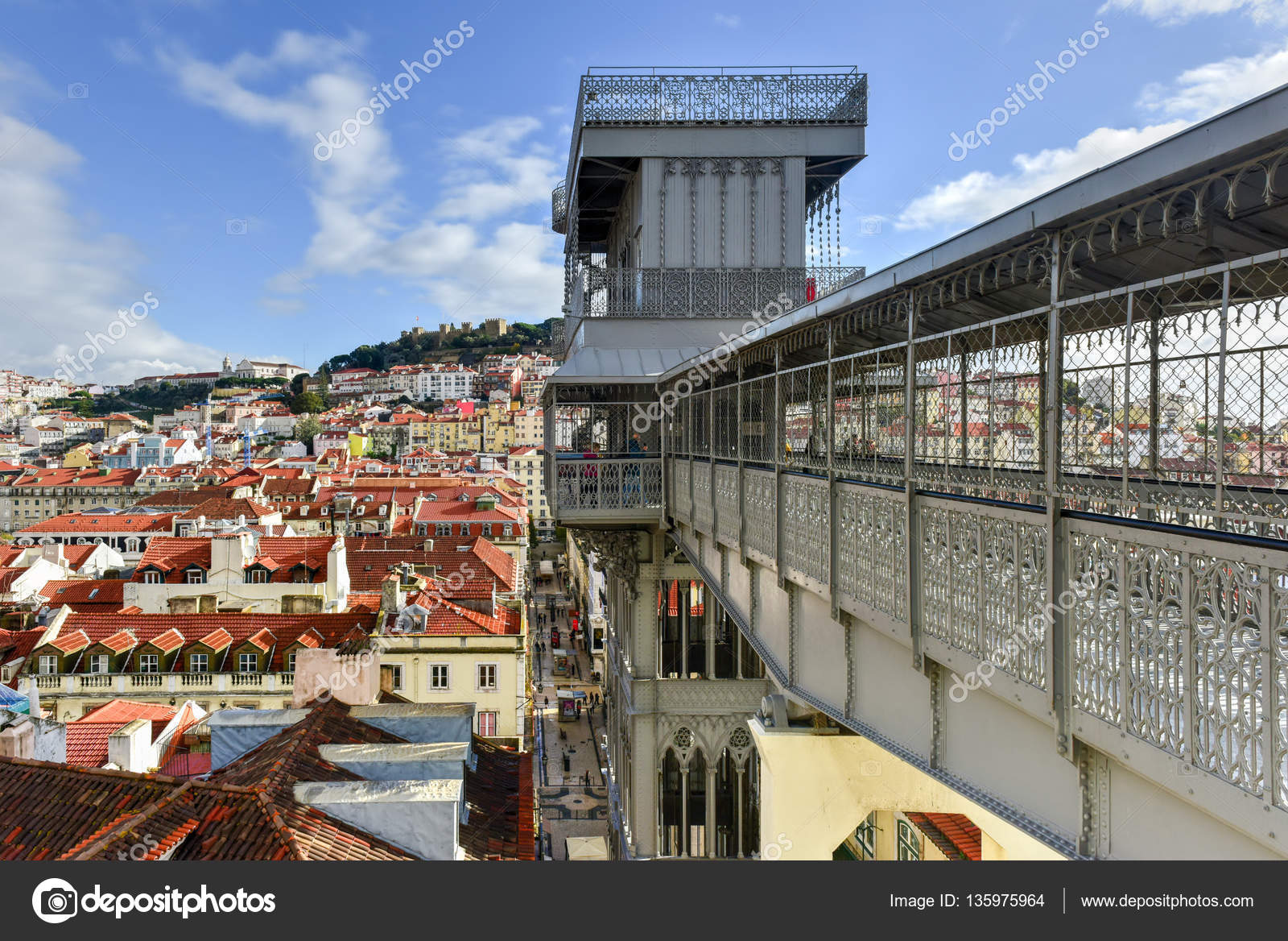 Ascensores Lisboa Alfama Ascensor De Santa Justa Lisboa