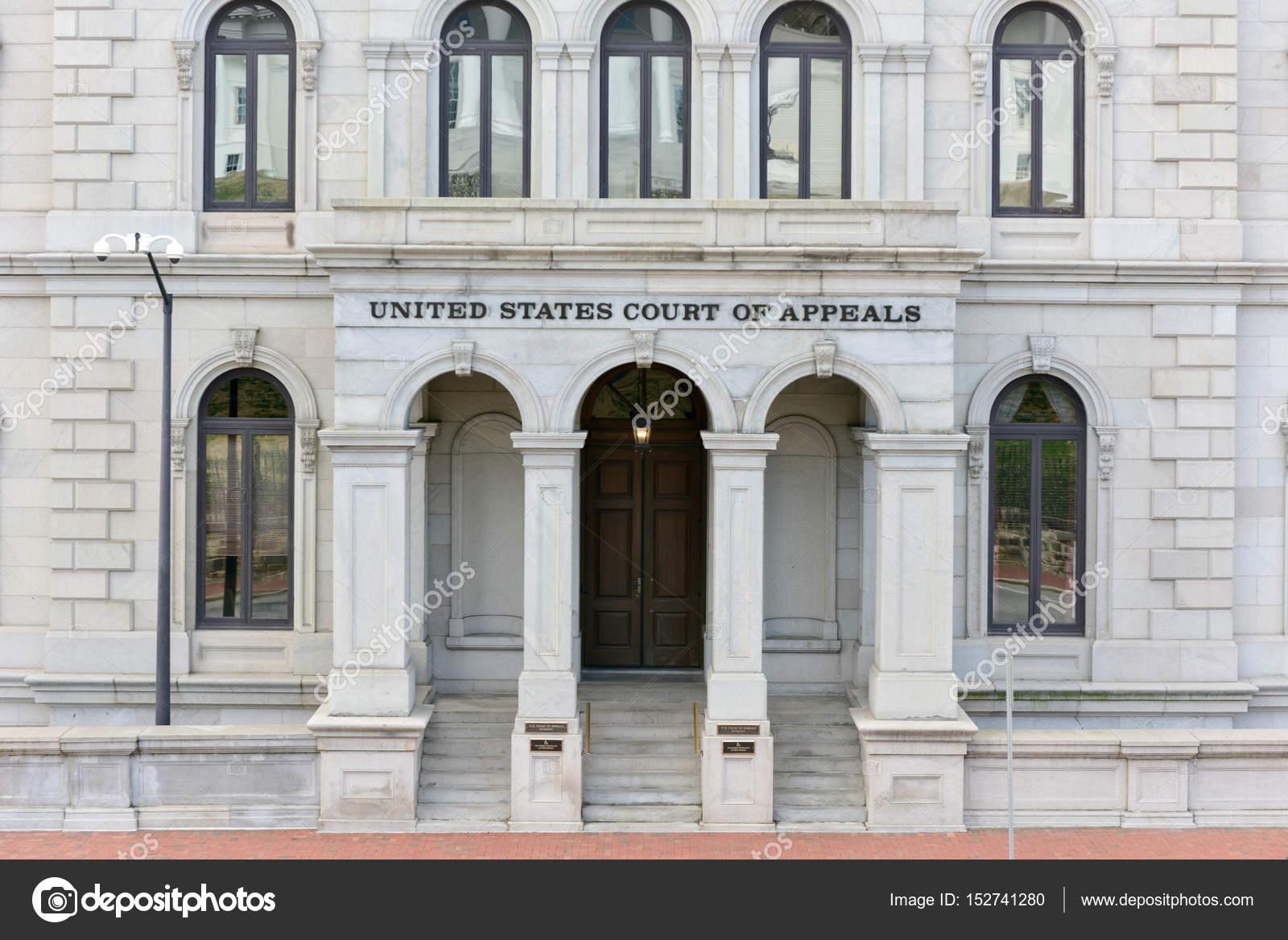 US Court of Appeals - Richmond, Virginia — Stock Photo