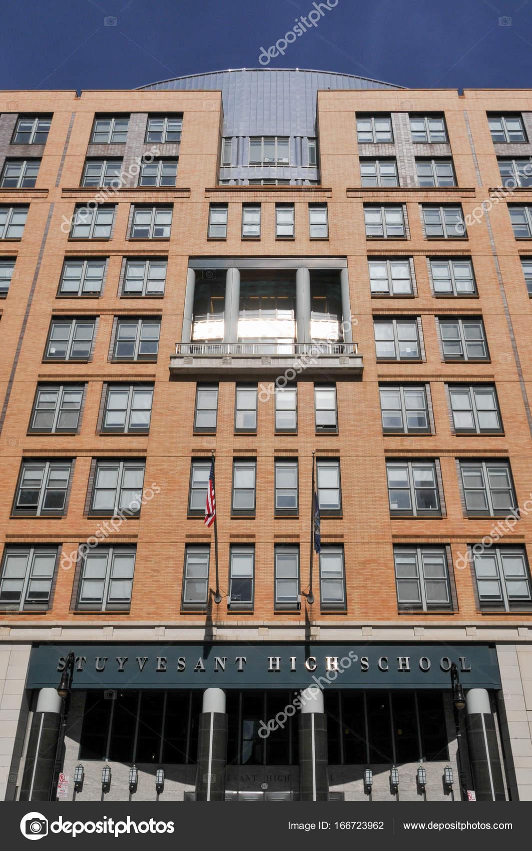 Stuyvesant High School New York City Stockfoto Demerzel21