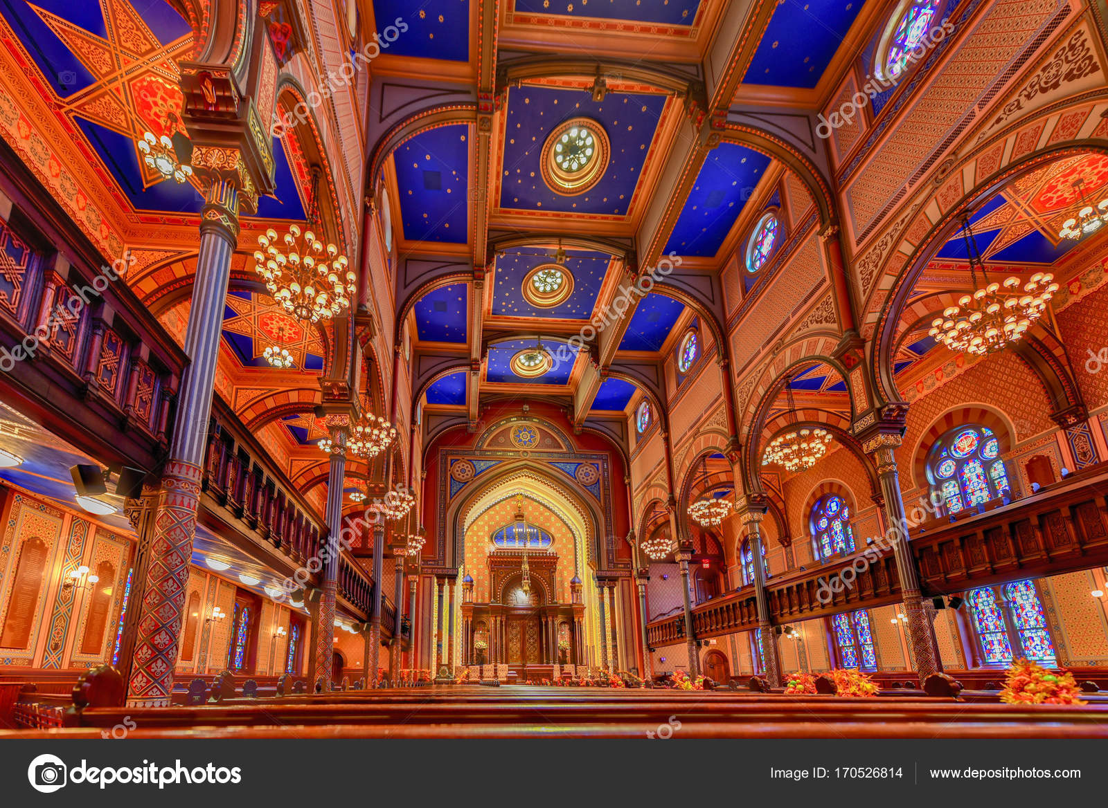 Central Synagogue - New York City – Stock Editorial Photo