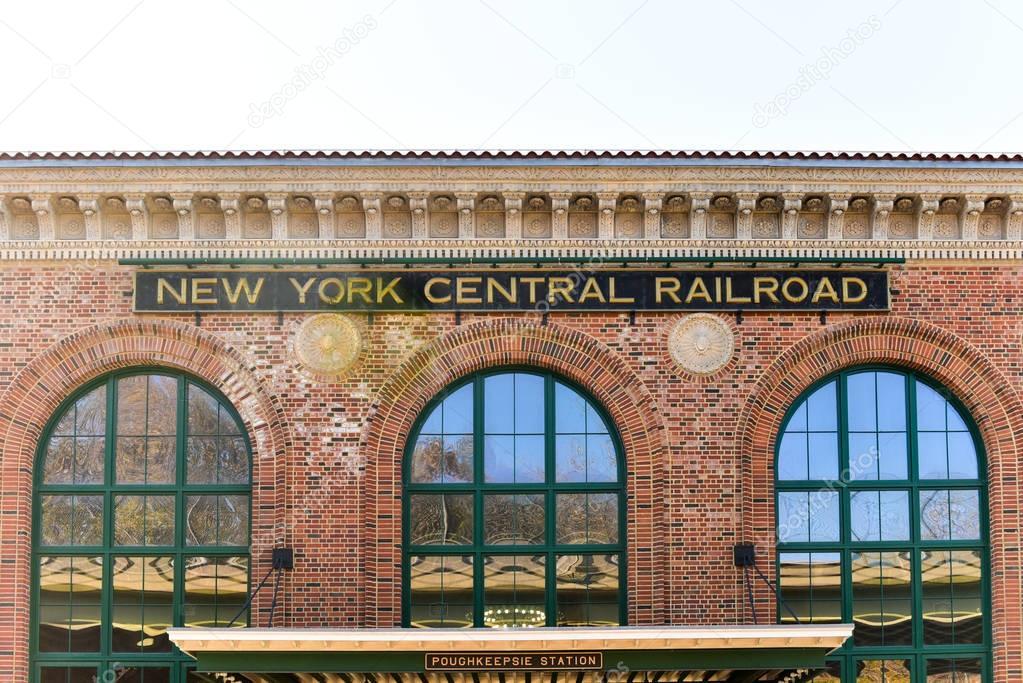 Exterior: New York Central Railroad