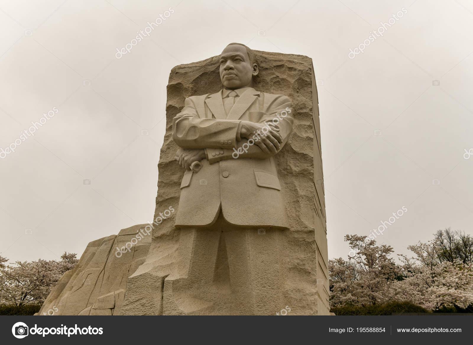 Martin Luther King Monument Washington Dc Stock Editorial Photo