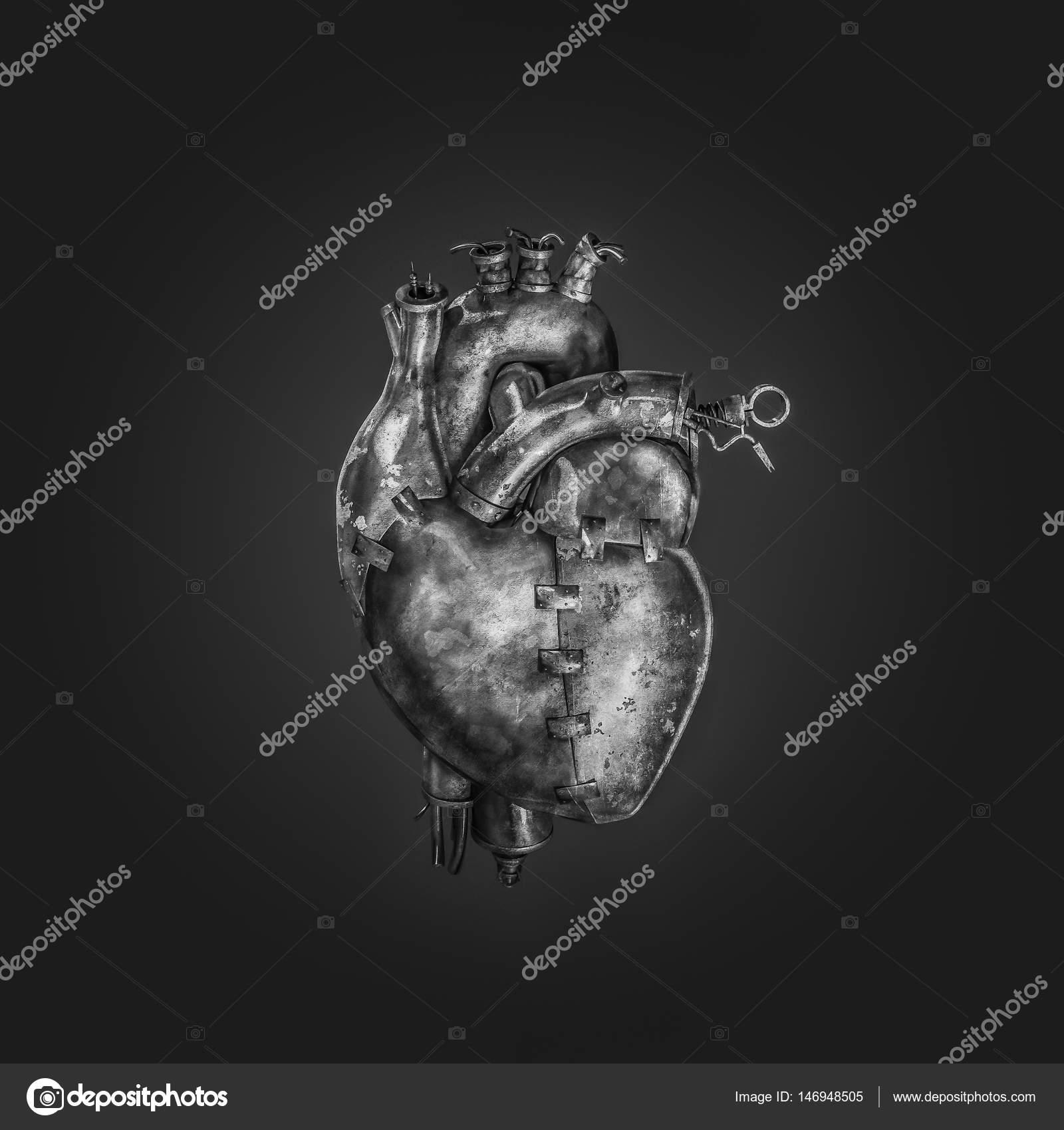 Coeur Steampunk coeur de machine steampunk — photographie grandeduc © #146948505