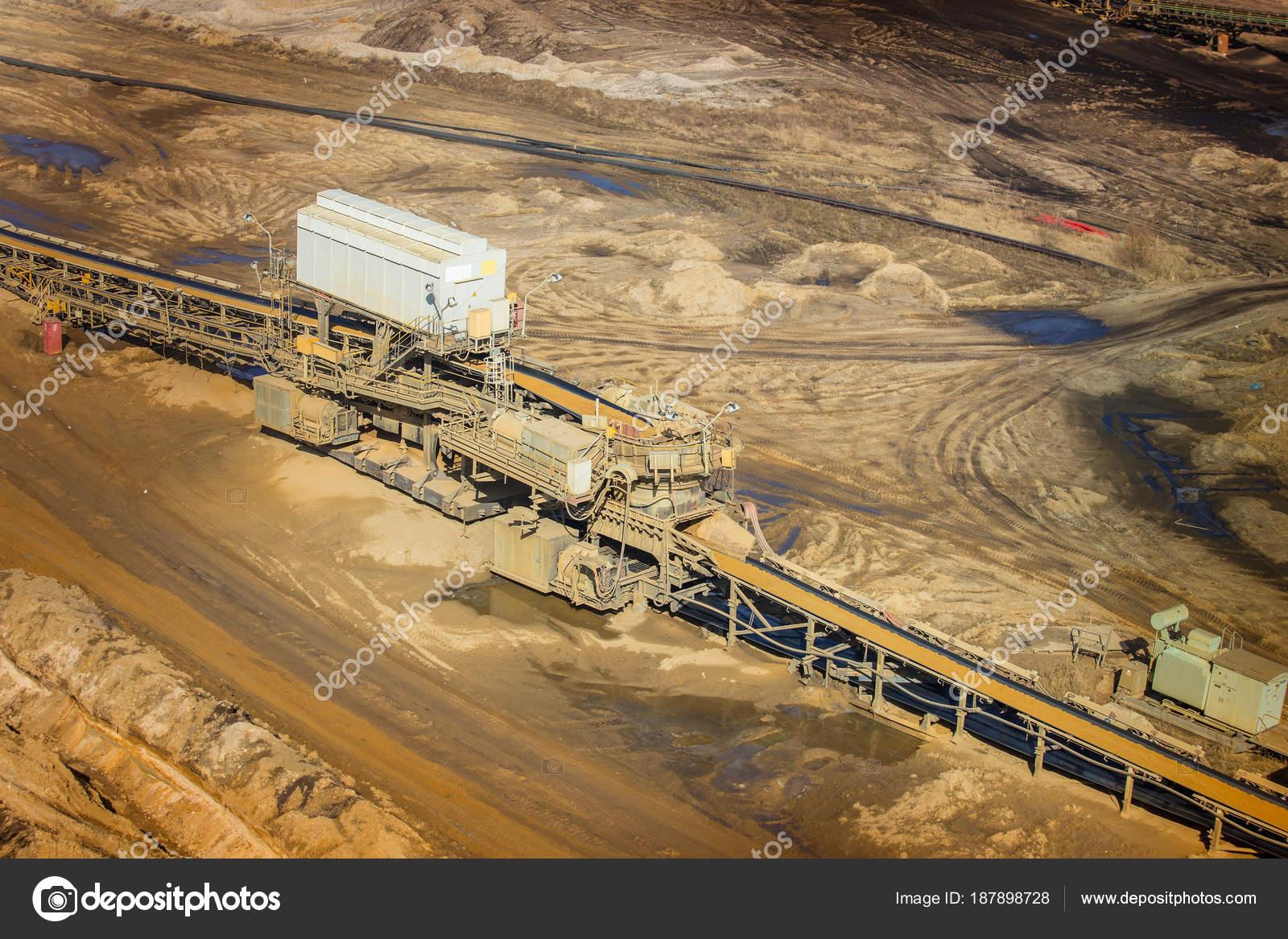 Brown coal: methods of mining 100