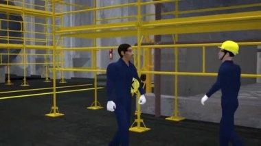 Animated Safety Training  Near Miss