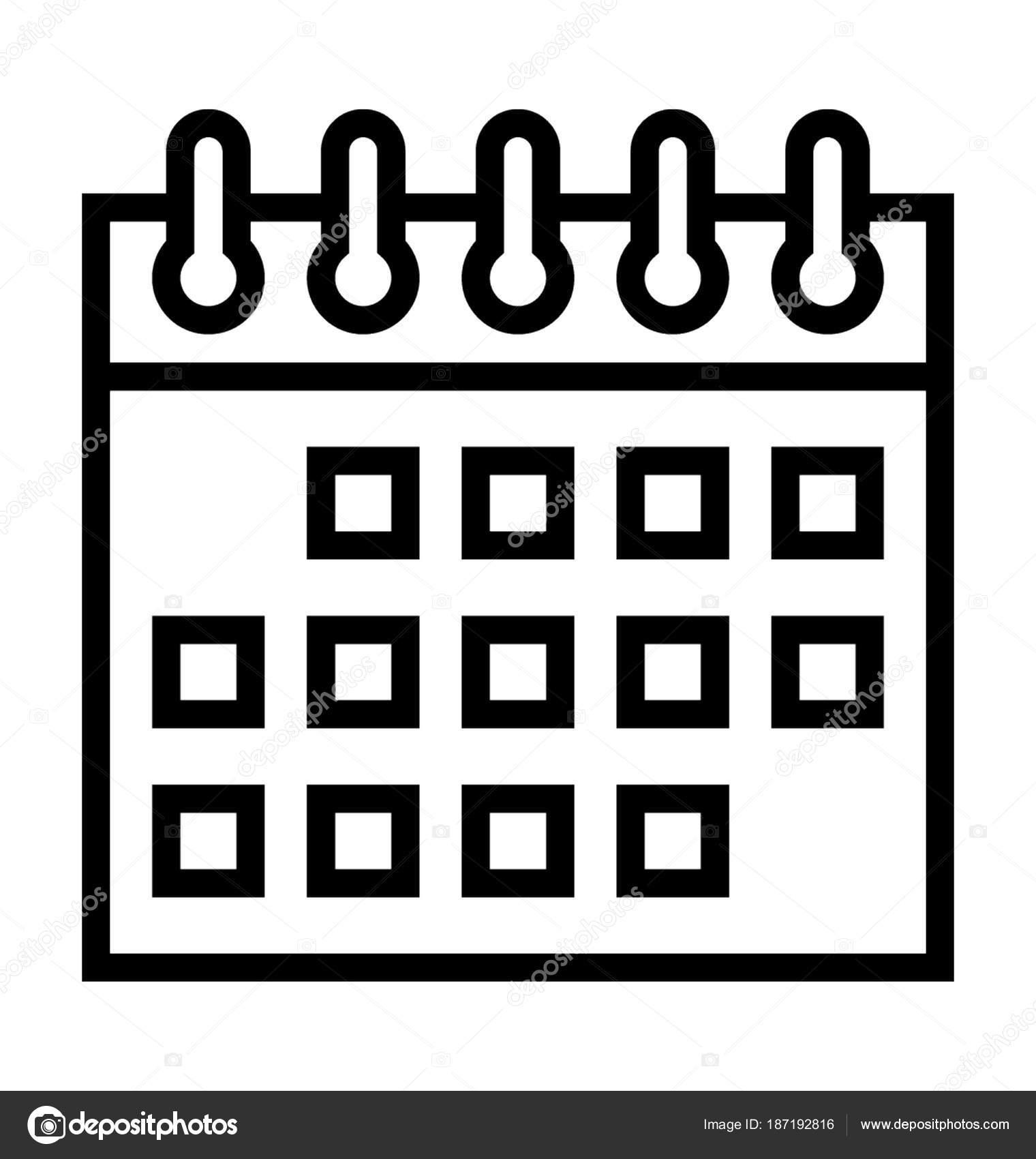 Calendario Dibujo Png.Animado Calendario Png Icono De Calendario Vector