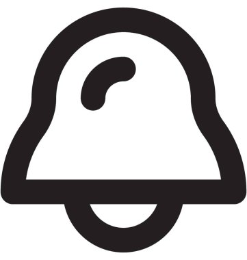 Bell Vector Line Icon