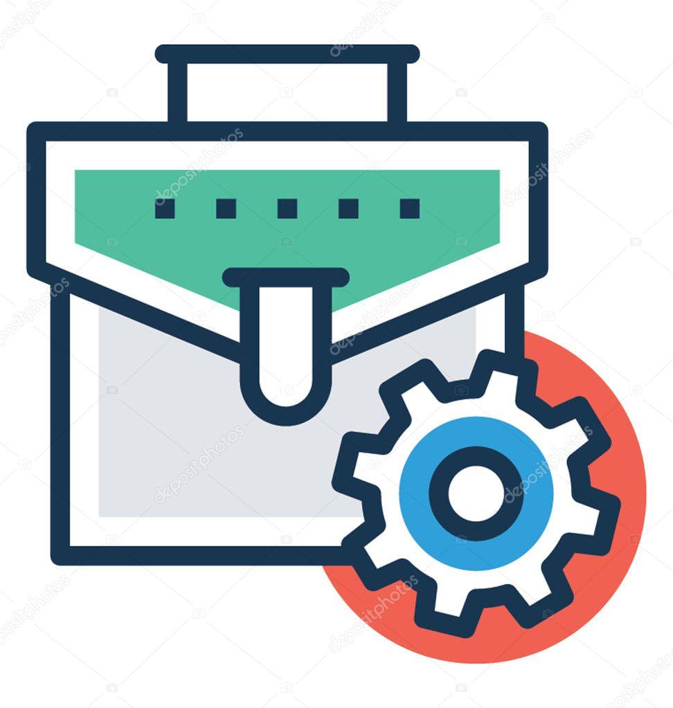 Professional Icon Business Portfolio Management Vector ...