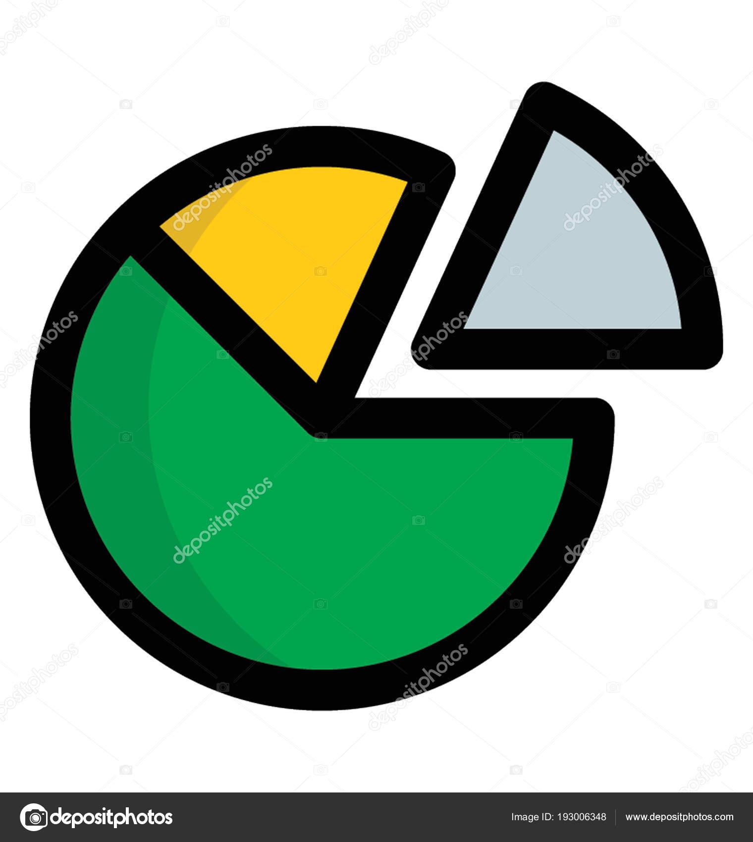 Circular Statistical Graphic Pie Chart Stock Vector Prosymbols
