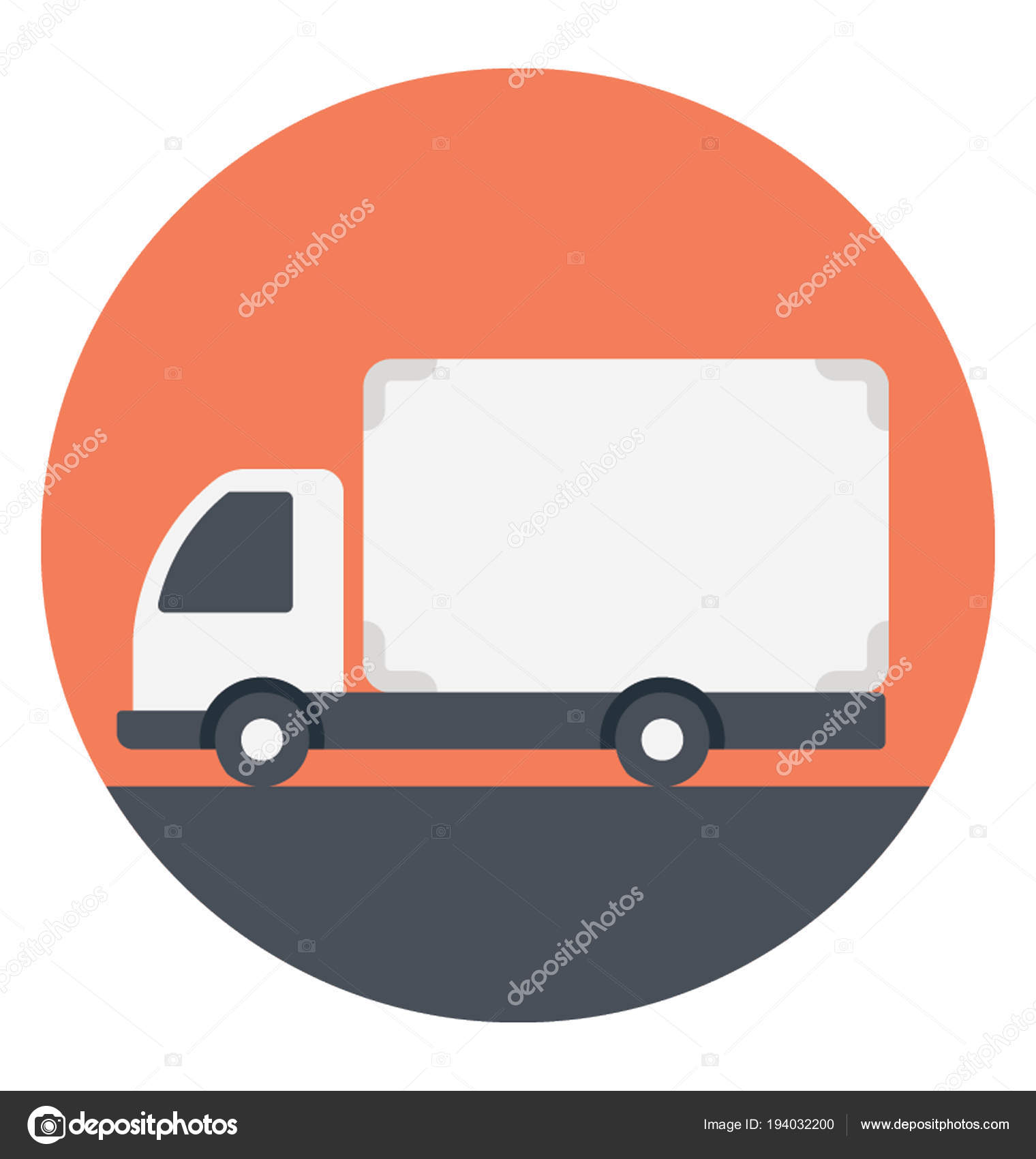 Flat Icon Of A Mobile Billboard Vector By Prosymbols