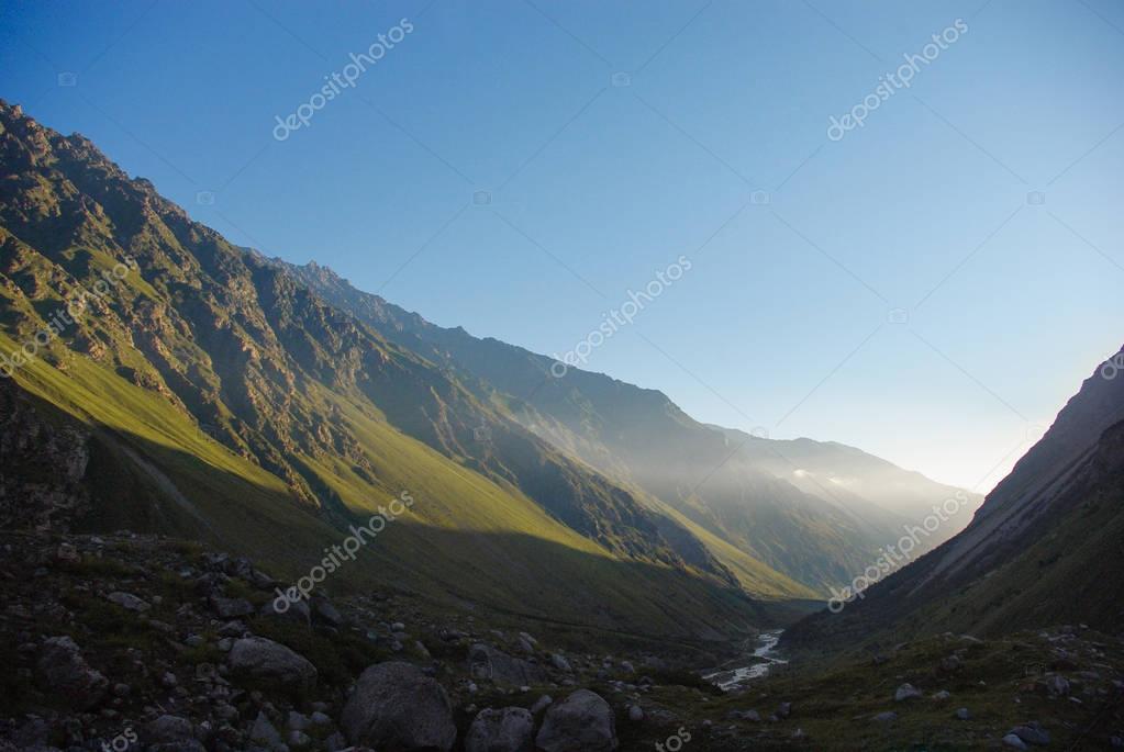 beautiful scenic landscape