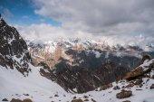 hegyek téli táj
