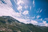 Fotografie krásná malebná horská krajina v indickém Himálaji, Rohtang Pass