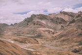 majestátní horské krajiny v indickém Himálaji, oblasti Ladakh