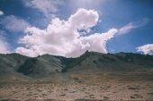 Photo beautiful scenic mountain landscape in Indian Himalayas, Ladakh region