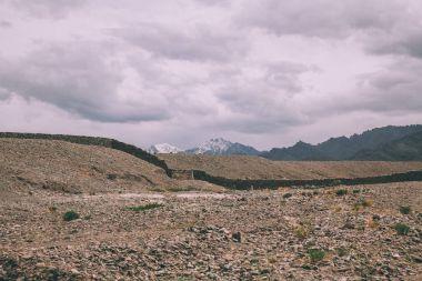 beautiful mountain landscape in indian himalayas, Leh region